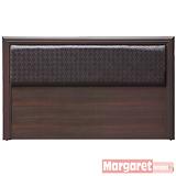 Margaret-幾何菱紋六分板雙人5尺床頭片(2色可選)
