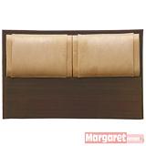 Margaret-典雅凱薩雙人5尺床頭片(2色可選)