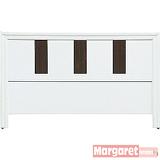Margaret-琴韻雙人5尺床頭片(白色)