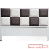 Margaret-黑白方程式雙人5尺床頭片