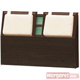 Margaret-京都靠墊加厚款雙人5尺床頭片(2色可選)