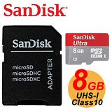 SanDisk 8GB 30MB/s Ultra microSDHC TF UHS-I Class10 200X 記憶卡