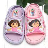【童鞋城堡】朵拉小草莓後帶拖鞋{台灣製造}DR2963