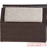 Margaret-極光靠墊型單人3.5尺床頭箱(2色可選)