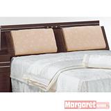 Margaret-極光靠墊型雙人5尺床頭箱(2色可選)