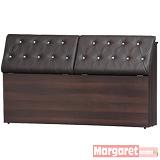 Margaret-星空水鑽雙人5尺床頭箱(2色可選)