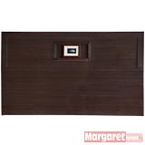 Margaret-經典貝殼加厚款雙人5尺床頭片(胡桃)