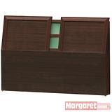 Margaret-京都簡約加厚款雙人5尺床頭片(2色可選)