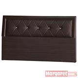 Margaret-水鑽靠墊加厚款雙人5尺床頭片(3色可選)