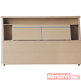Margaret-雷克雙人5尺床頭箱(2色可選)