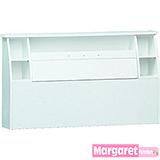 Margaret-美芙線條雙人5尺床頭箱(3色可選)