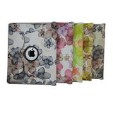 L35花紋款New iPad平板旋轉皮套
