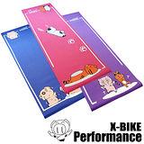 Performance 台灣精品 X-BIKE 卡通造型 環保無毒瑜珈墊(3款任選)