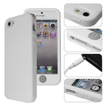 [ZIYA] iPhone 5 矽膠保護套-炫彩按鈕