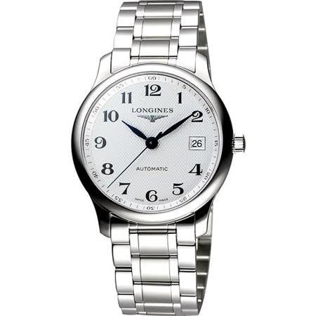 LONGINES Master 巨擘系列機械腕錶 L25184786
