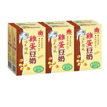 義美雞蛋豆奶250ml*6入