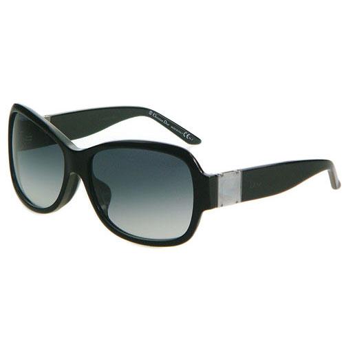 Dior-時尚太陽眼鏡(黑色/咖啡紅)