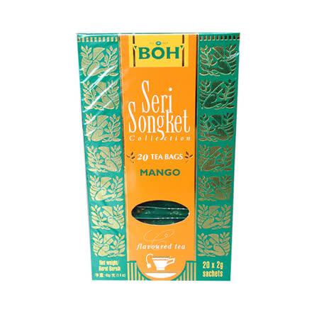 ★即期良品★ BOH 寶樂茶 風味紅茶包-芒果味(20入/盒)
