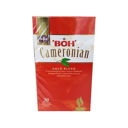 BOH 寶樂茶 金牌紅茶包(20入/盒)