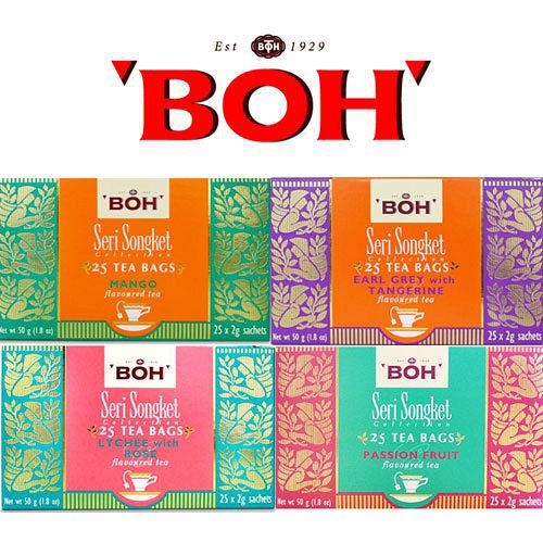~淡定紅茶~ BOH寶樂茶 風味紅茶系列/2盒(免運)