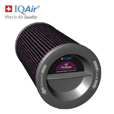 瑞士IQAir-GC MultiGas氣體過濾筒