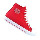 【韓國T2R】經典高筒帆布隱形氣墊增高鞋 紅 ↑7cm 5600-0043(原裝進口)