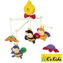 【Ks Kids】蜜蜂布偶旋轉音樂鈴