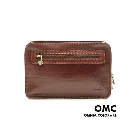 OMC - 韓國原皮魅力真皮輕巧型手拿包