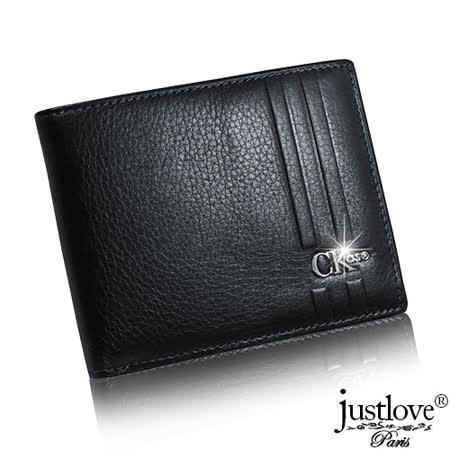 【justloveParis】法國名品真皮皮夾簡約素雅中性小牛真皮短夾(共2色) BW-0125-4