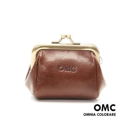 OMC - 韓國真皮魅力款復古式零錢包-大