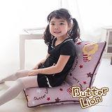 【奶油獅】正版授權-搖滾星星胖胖和室椅-淡紫