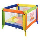 【Babybabe】方型彩繪遊戲床