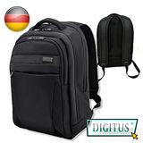 曜兆DIGITUS 15.6吋 時尚護脊輕量高保護後背包(黑色) -限時買一送一加送手機支架二個(送完為止)