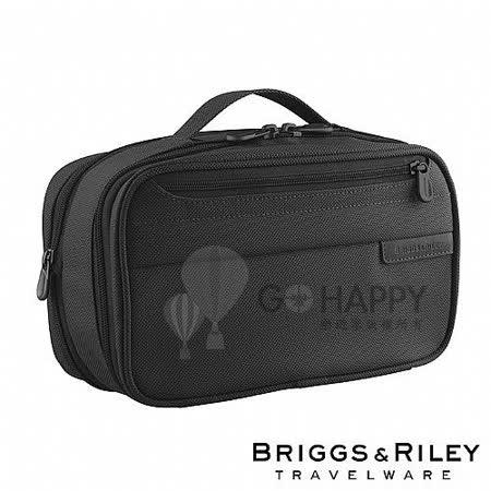 Briggs & Riley 可擴充盥洗包(黑色)