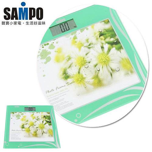 聲寶SAMPO-多功能相框時鐘電子體重計(BF-L1108ML)