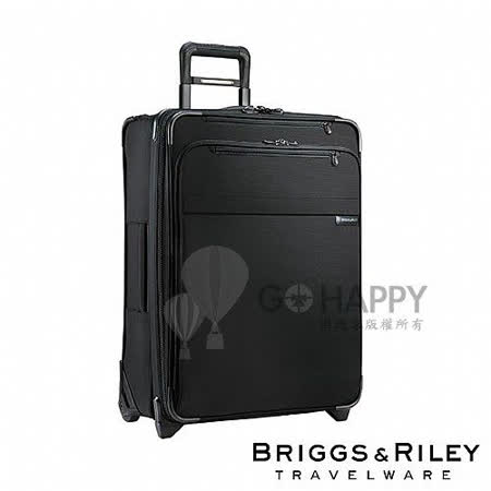 Briggs & Riley 25吋 可擴充行李箱(黑色)