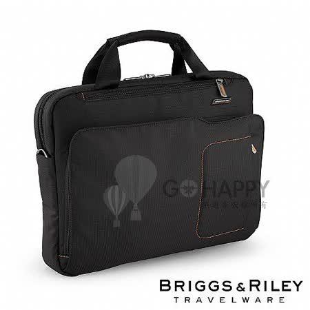 Briggs & Riley 電腦公事包(黑色06)