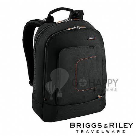 Briggs & Riley 後背電腦公事包(黑色)
