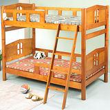 《BuyJM》馬克3.5呎單人加大實木雙層床