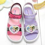 【童鞋城堡】真珠美人魚愛心女童涼鞋{台灣製造}PI4252