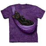 『摩達客』(預購)美國進口【The Mountain】自然純棉系列 貓搖籃 設計T恤