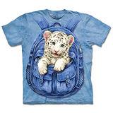 『摩達客』(預購)美國進口【The Mountain】自然純棉系列 背包白虎 設計T恤