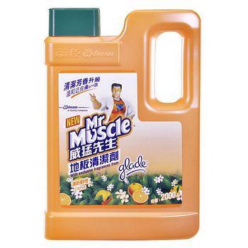 威猛先生地板清潔劑-鮮橙2000ML