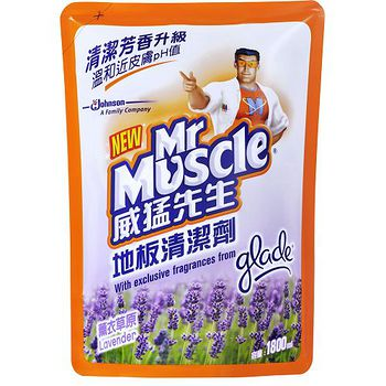威猛先生地板清潔劑補充包-薰衣草原1800ml