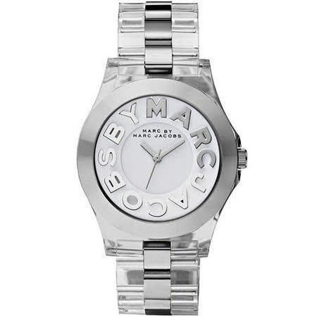 【真心勸敗】gohappy 購物網Marc Jacobs MBMJ 繽紛玻麗腕錶-透明 MBM4545效果好嗎愛 買 吉安 高雄