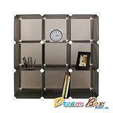 〝DREAM BOX〞生活玩家9格創意組合收納櫃〝紳士黑〞