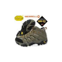 【美國 MERRELL 】男中筒 Moab Mid Gore-Tex Xcr 100%防水透氣專業健行.登山鞋.健走.休閒旅遊/86901