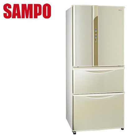 [促銷]SAMPO聲寶 560L變頻四門冰箱SR-LW56DD(Y1)送安裝