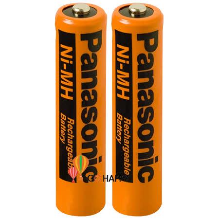 《Panasonic》 AAA四號原廠鎳氫充電電池 HHR-55AAAB (兩入)