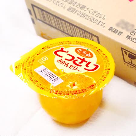 【鮮果日誌】看板商品-日本鮮果果凍 どっさり - 橘子舞凍